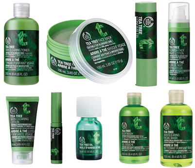 2015The Body Shop's Tea Tree products1